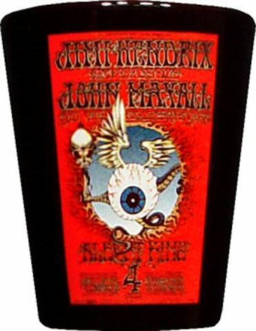 Jimi Hendrix Experience Shotglass