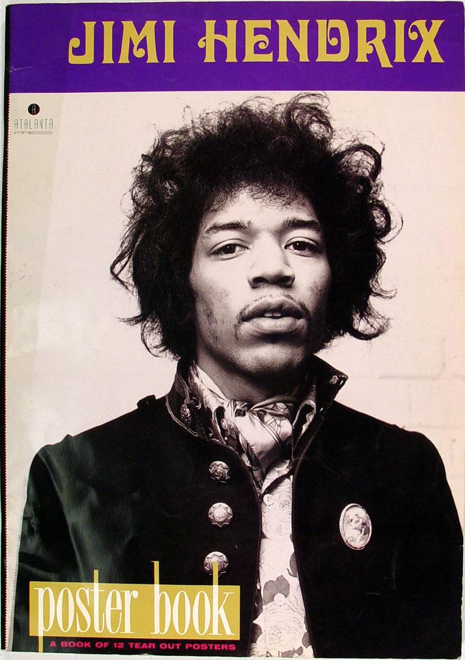 Jimi Hendrix Poster Book