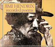 Jimi Hendrix: Recorded Poems Book