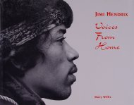 Jimi Hendrix Voices From Home Book