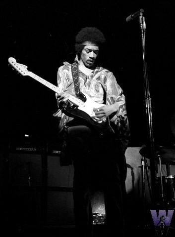 Jimi Hendrix Fine Art Print