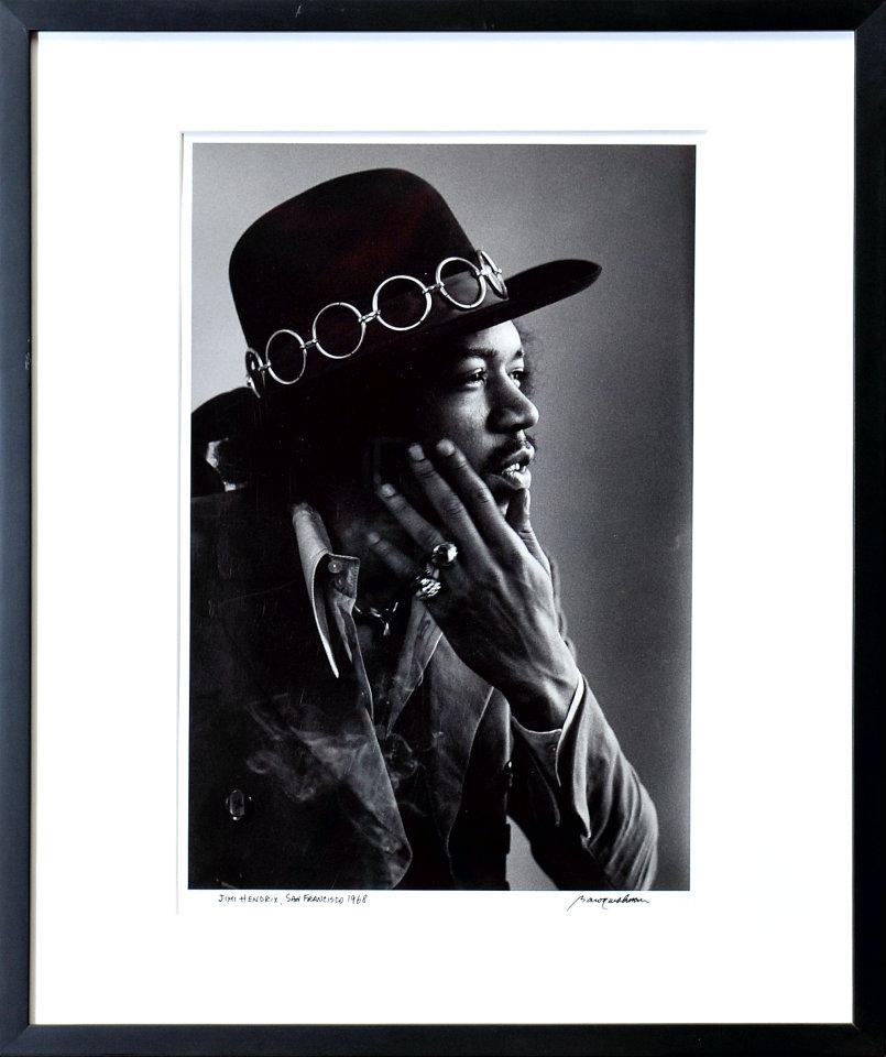 Jimi Hendrix Framed Fine Art Print