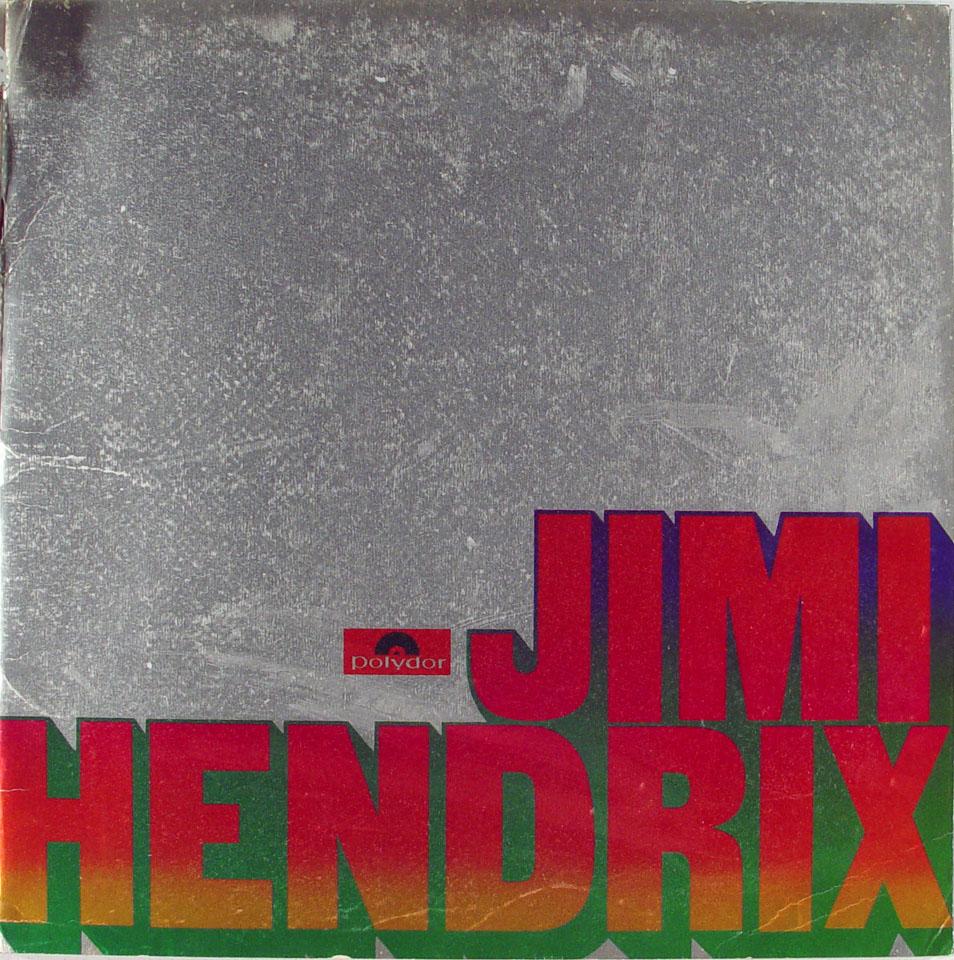 Jimi Hendrix reverse side