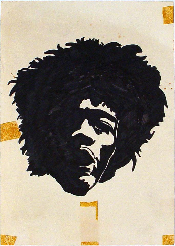 Jimi Hendrix Original Art