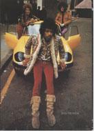 Jimi Hendrix Postcard
