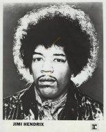 Jimi Hendrix Promo Print