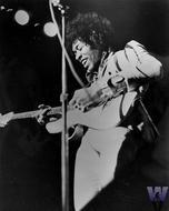 Jimi Hendrix Vintage Print