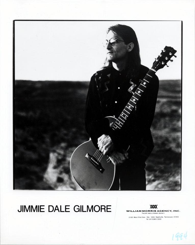 Jimmie Dale Gilmore Promo Print