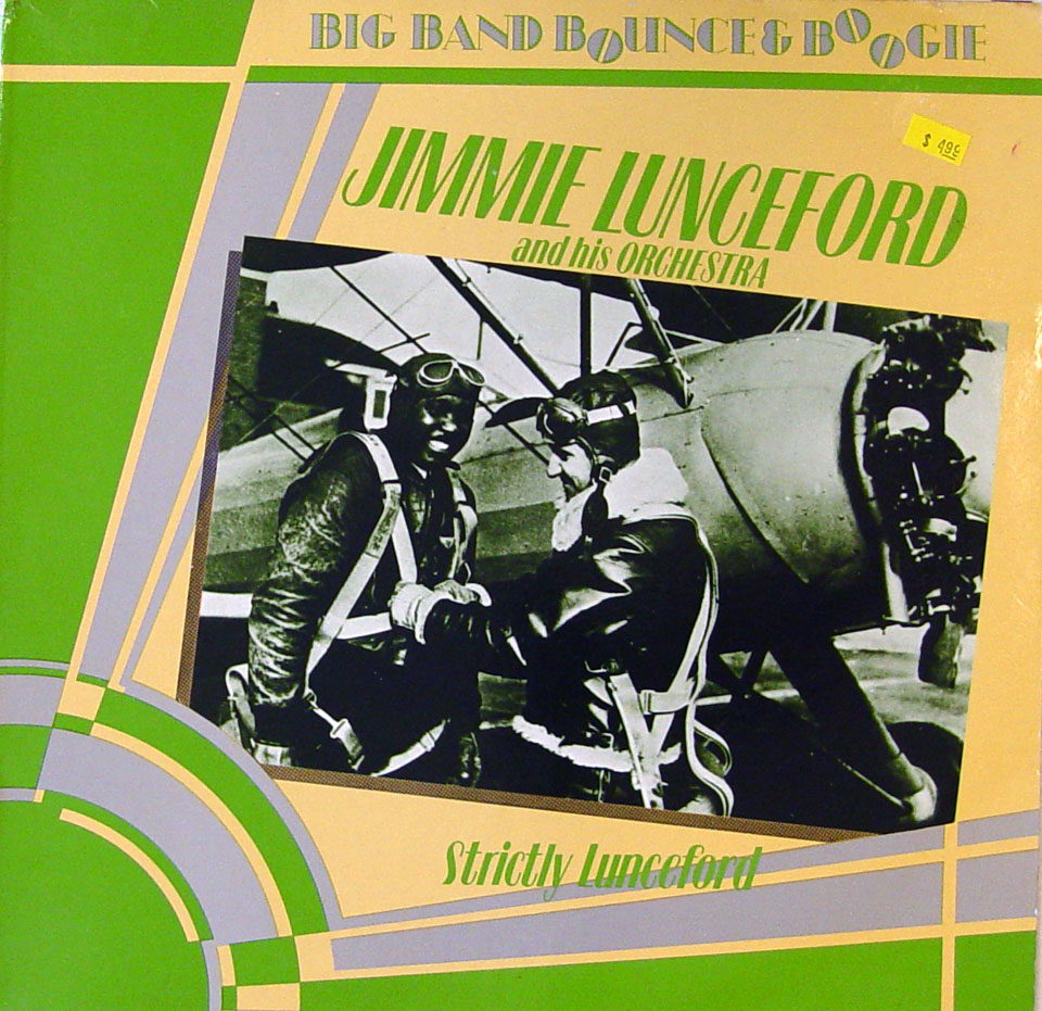 """Jimmie Lunceford & His Orchestra Vinyl 12"""" (Used)"""