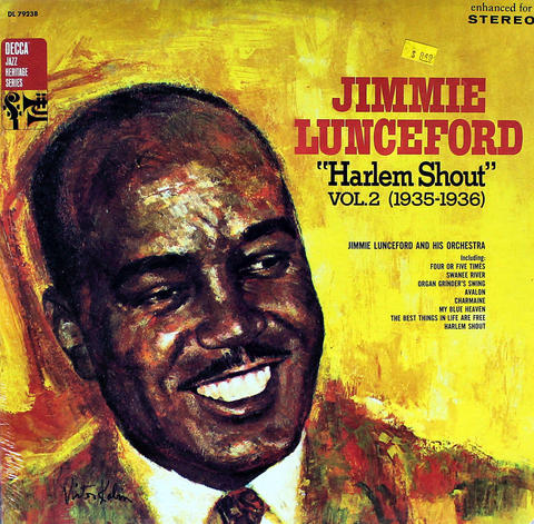"Jimmie Lunceford Vinyl 12"" (New)"