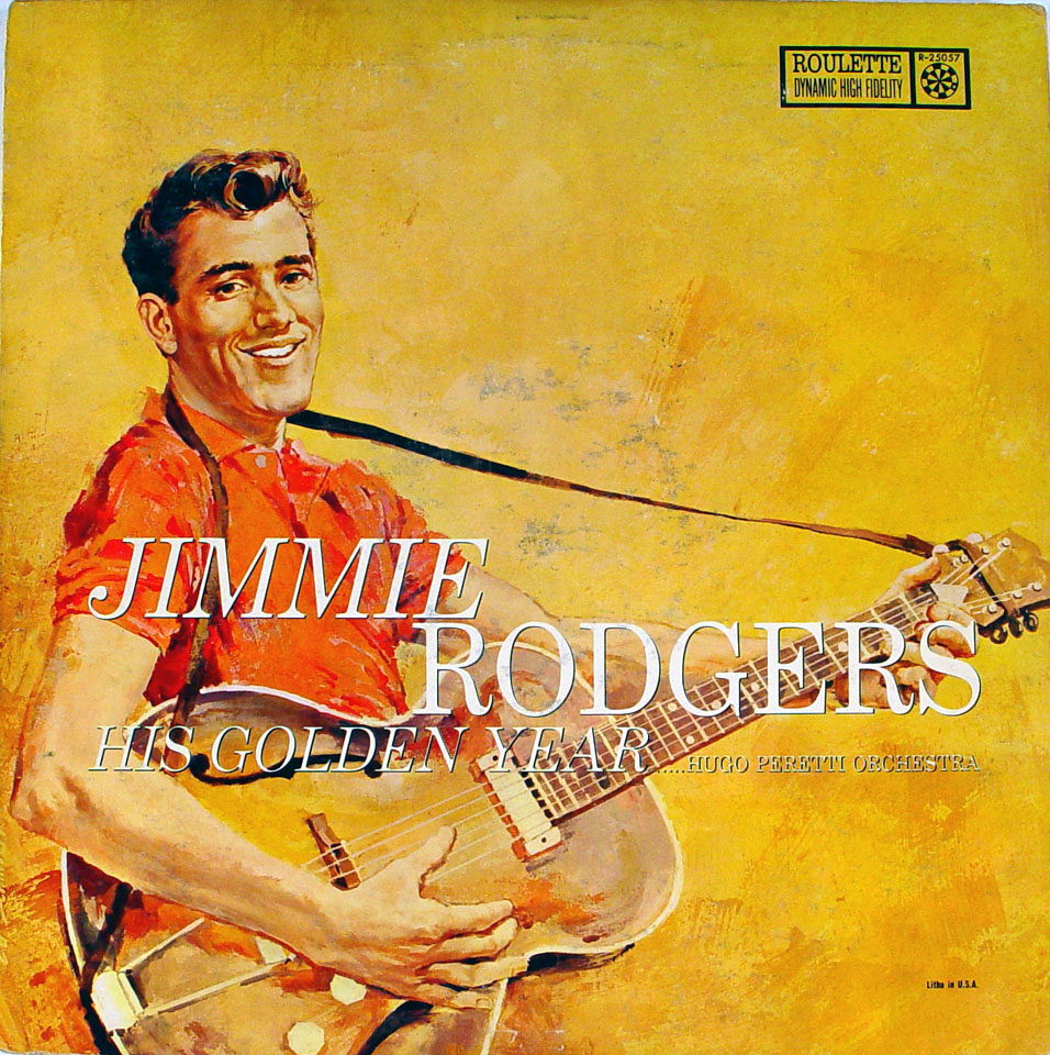 "Jimmie Rodgers Vinyl 12"" (Used)"