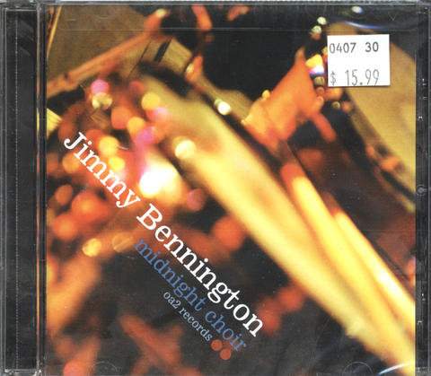 Jimmy Bennington CD