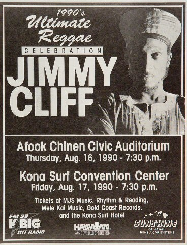 Jimmy Cliff Handbill