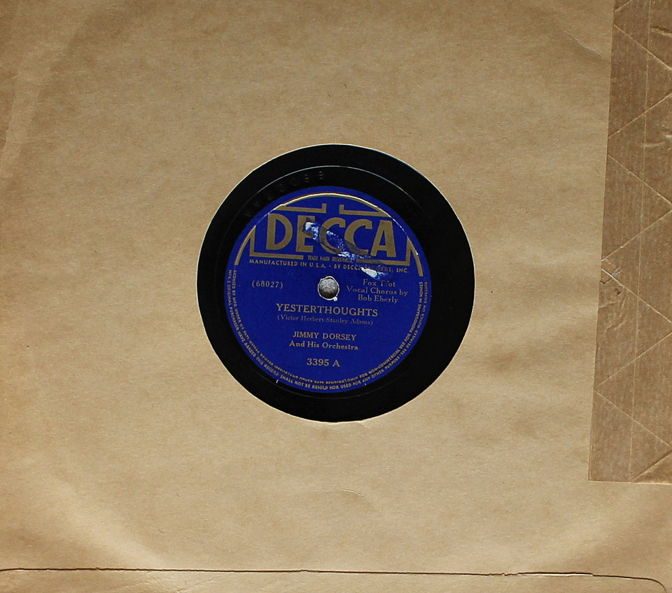 Jimmy Dorsey And His Orchestra 78