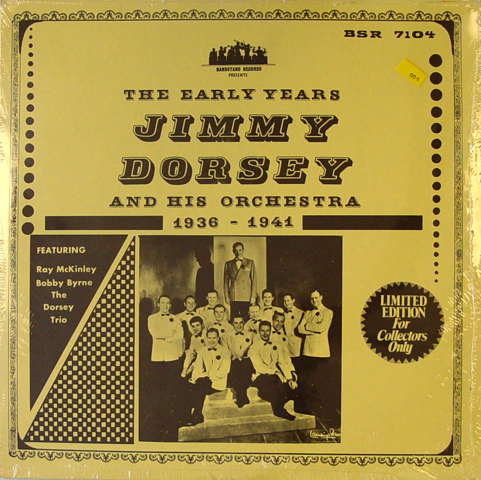 """Jimmy Dorsey And His Orchestra Vinyl 12"""" (New)"""