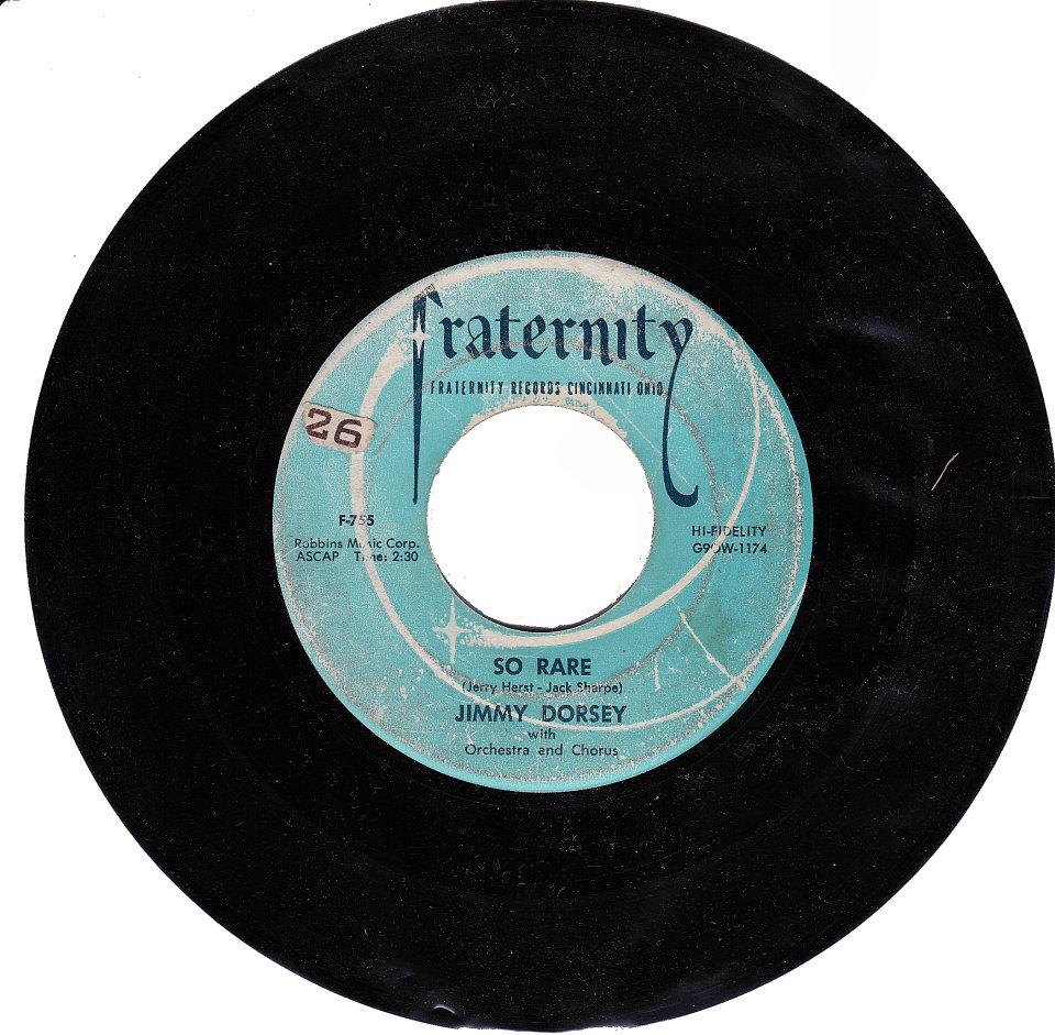 "Jimmy Dorsey Vinyl 7"" (Used)"