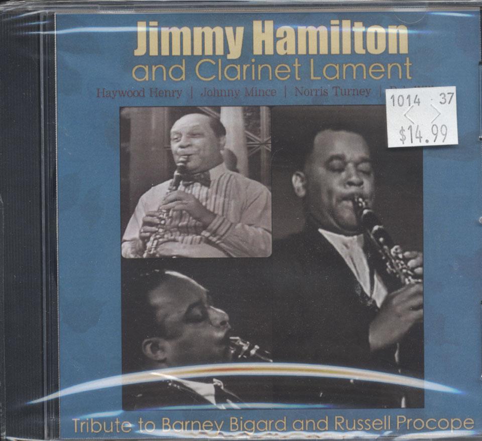 Jimmy Hamilton and Clarinet Lament CD
