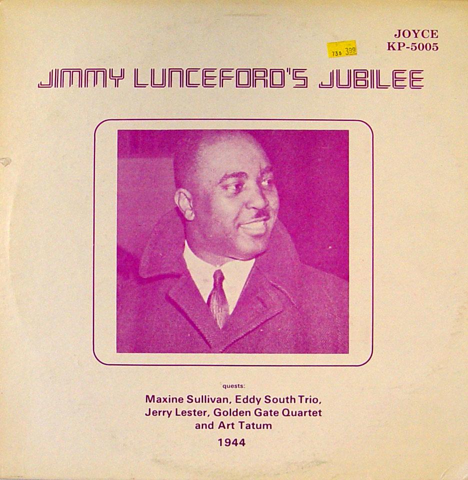 """Jimmy Lunceford Vinyl 12"""" (Used)"""