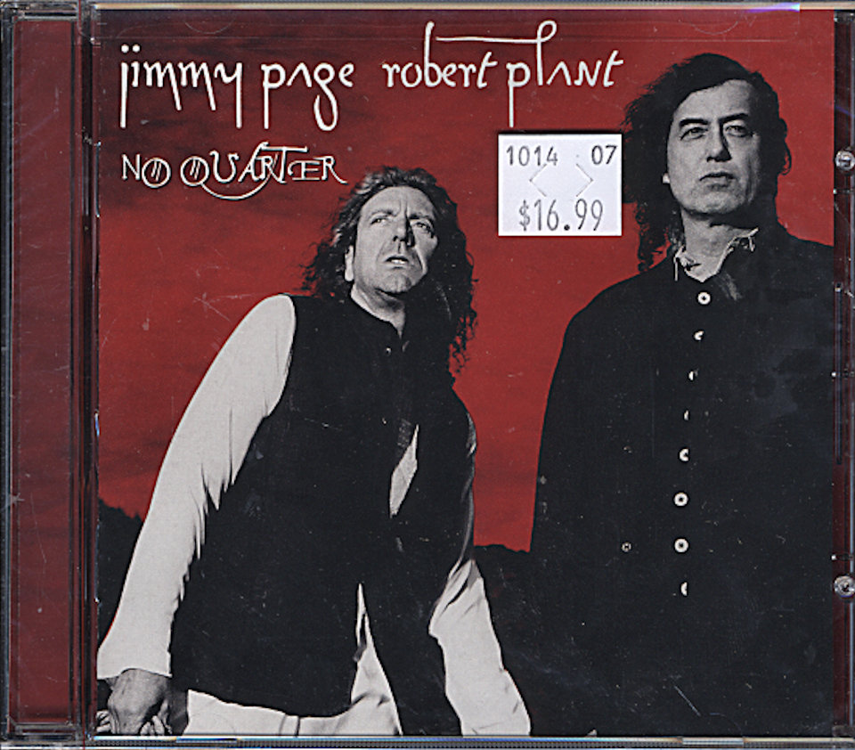 Jimmy Page / Robert Plant CD