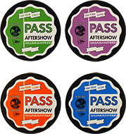 Jimmy Page Backstage Pass