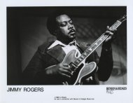 Jimmy Rogers Promo Print