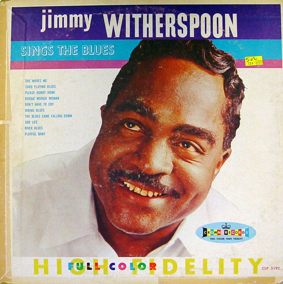 """Jimmy Witherspoon Vinyl 12"""" (Used)"""
