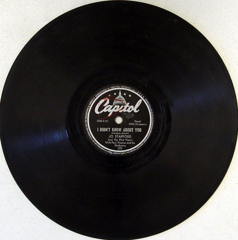 Jo Stafford / The Pied Pipers 78
