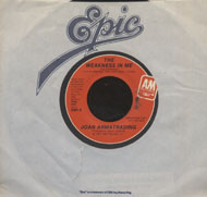 "Joan Armatrading Vinyl 7"" (Used)"