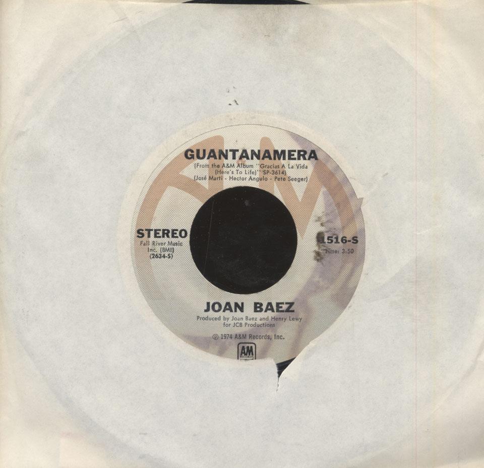 """Joan Baez Vinyl 7"""" (Used)"""