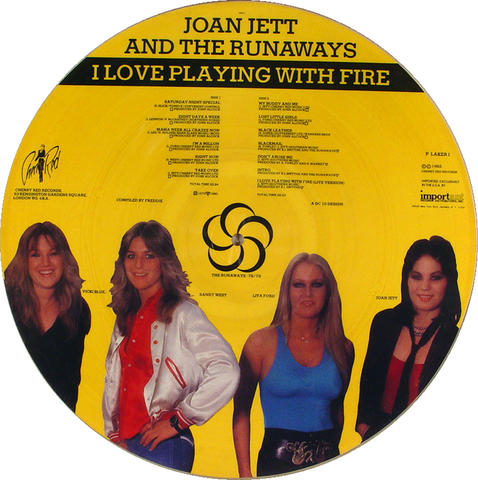 "Joan Jett Vinyl 12"" (New)"