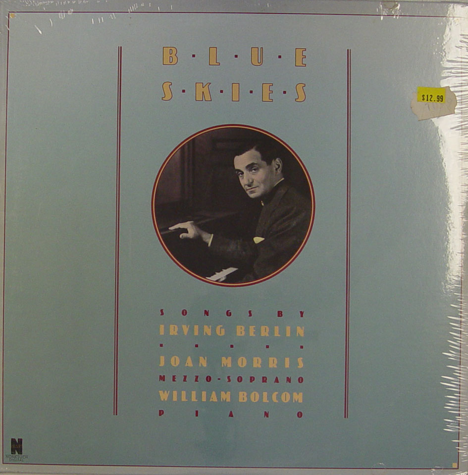 "Joan Morris / William Bolcom Vinyl 12"" (New)"