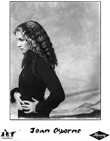 Joan Osborne Promo Print