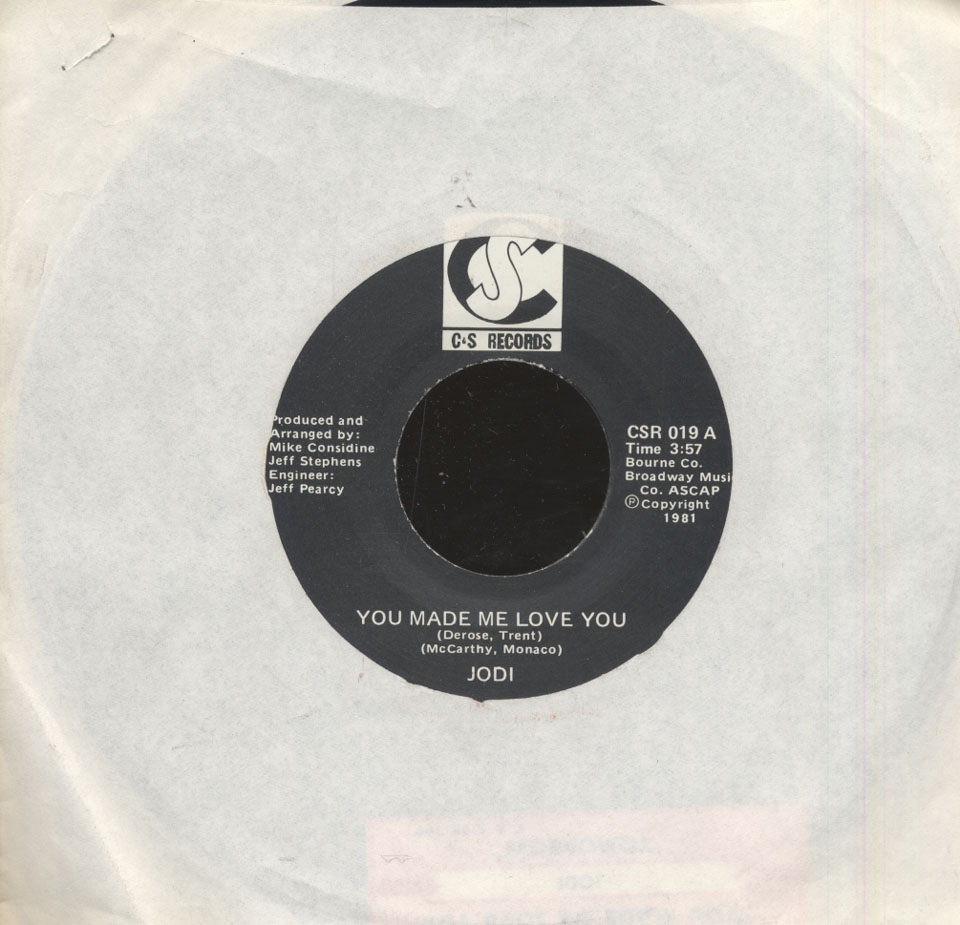 "Jodi and The Kidd Vinyl 7"" (Used)"