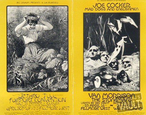 Joe Cocker Postcard