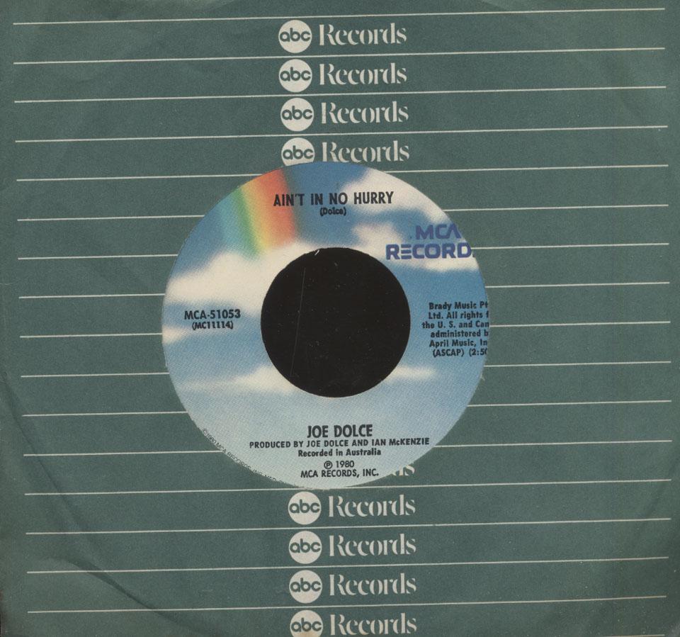 "Joe Dolce Vinyl 7"" (Used)"