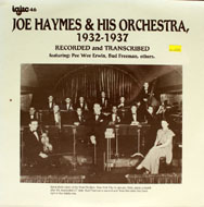 "Joe Haymes & His Orchestra Vinyl 12"" (New)"