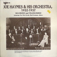 """Joe Haymes & His Orchestra Vinyl 12"""" (Used)"""