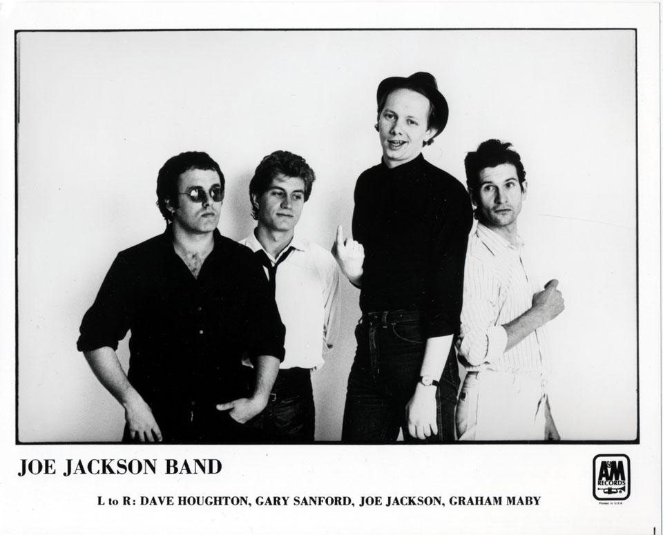 Joe Jackson Promo Print