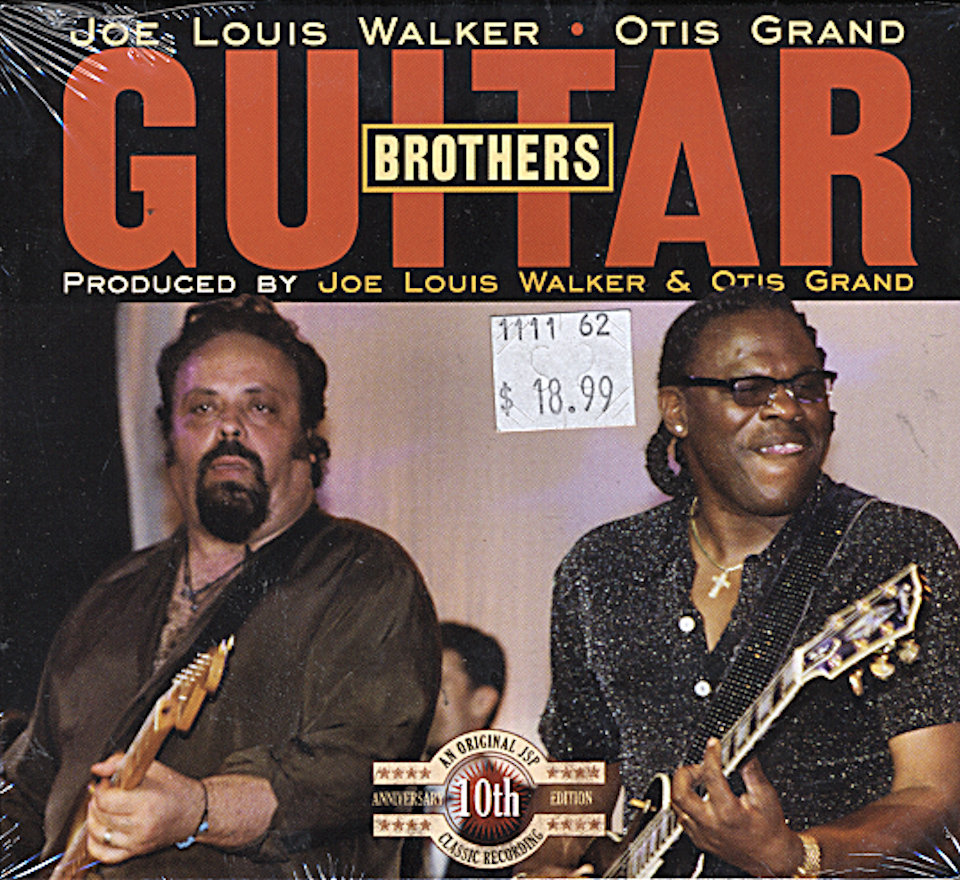 Joe Louis Walker / Otis Grand CD