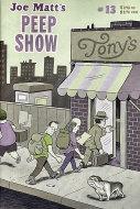 Joe Matt's Peep Show #13 Comic Book