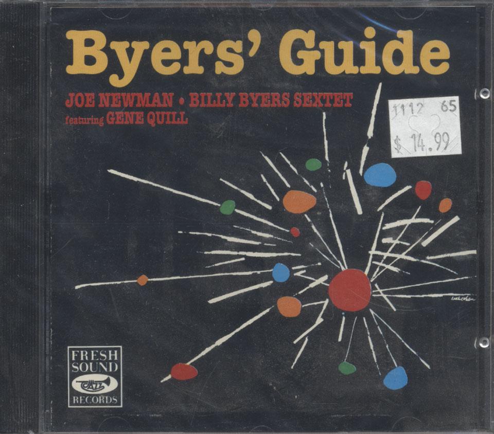 Joe Newman / Billy Byers Sextet / Gene Quill CD