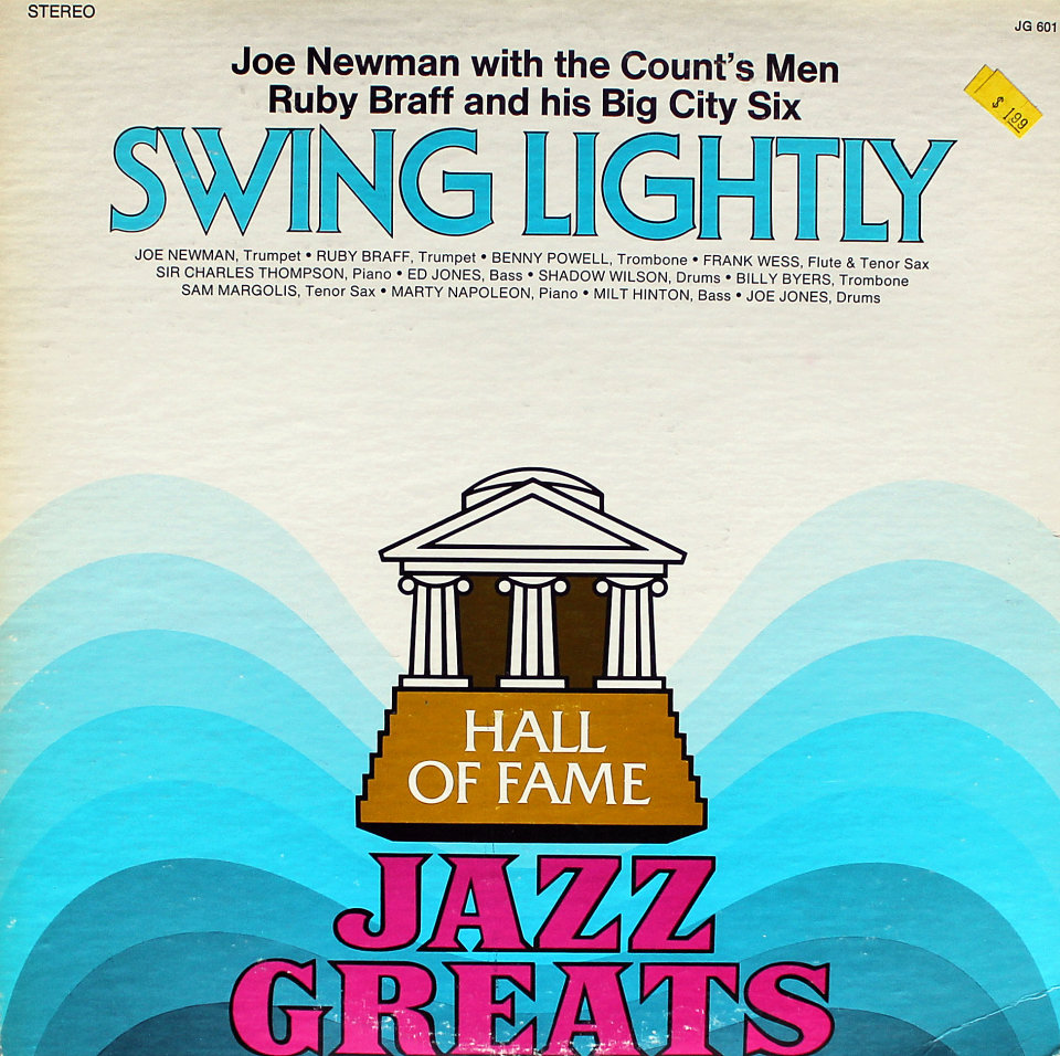 """Joe Newman With The Count's Men Vinyl 12"""" (Used)"""