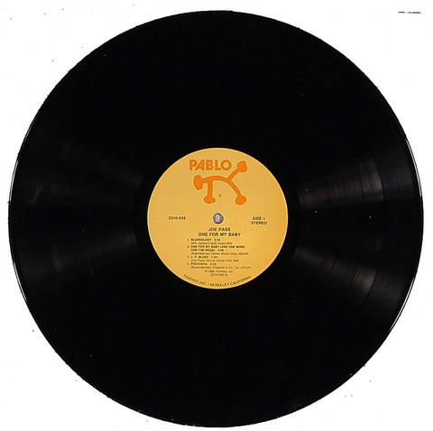 "Joe Pass Vinyl 12"" (Used)"