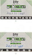 Joe Piscopo Backstage Pass