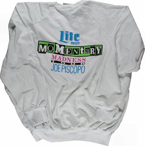 Joe Piscopo Men's Vintage Sweatshirts reverse side
