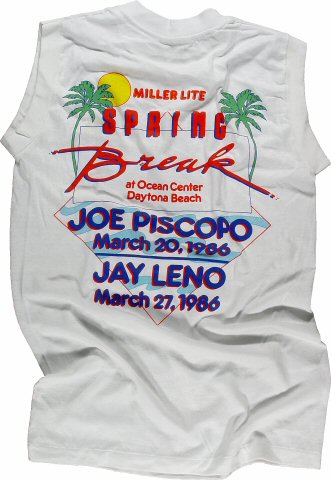 Joe Piscopo Men's Vintage T-Shirt reverse side