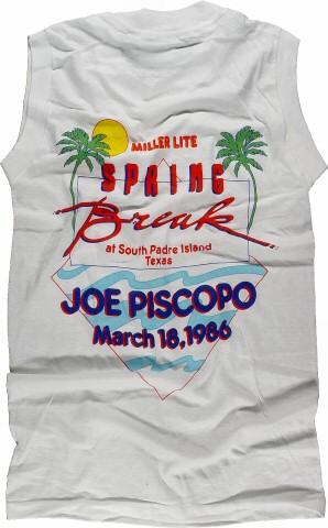Joe Piscopo Men's Vintage T-Shirt reverse side