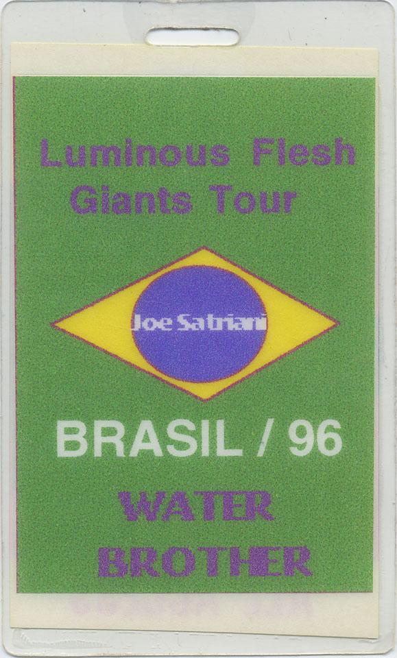Joe Satriani Laminate reverse side