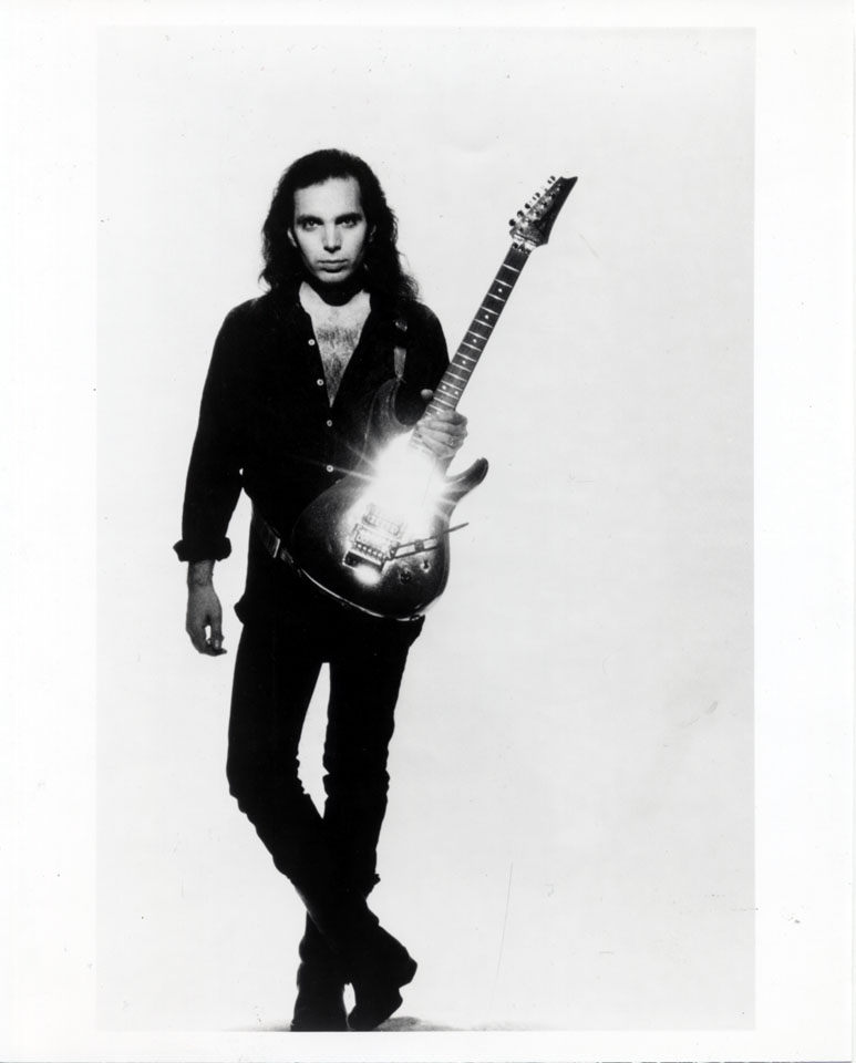 Joe Satriani Vintage Print