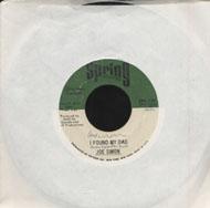 """Joe Simon Vinyl 7"""" (Used)"""